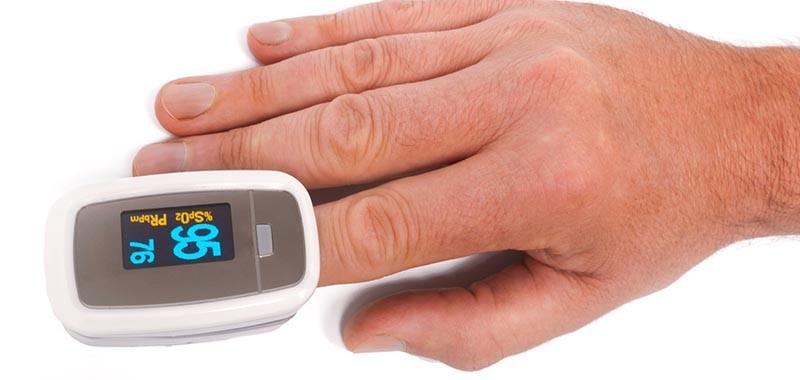 Fingerpulsoxymeter